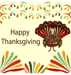 Thanksgiving day beautiful vector