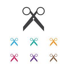 of barber symbol on clippers vector image
