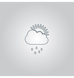Rainy season vector