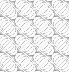 Slim gray diagonal merging chinese lanterns vector
