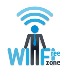 Wifi icon vector