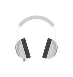 headphone device icon vector image vector image