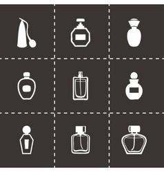 perfume icon set vector image vector image