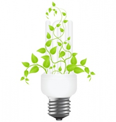 power saving vector image