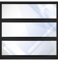 Abstract Geometric Banner vector image