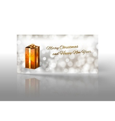 Gold Gift vector image