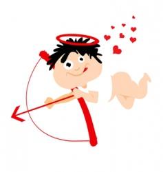 cute Eros cartoon vector image