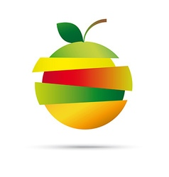 Fresh fruit company logo vector