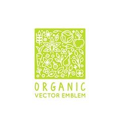 Logo design template vector