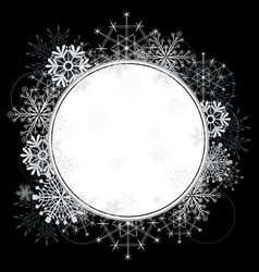 new year frame vector image vector image