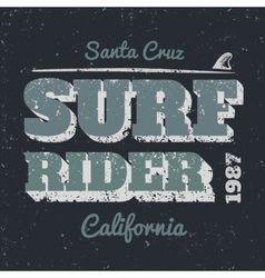 Surf rider vector image vector image
