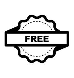 Thin line free icon vector