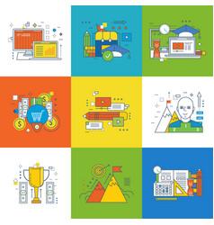 Innovation design learning video communication vector
