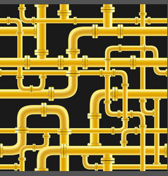 gas pipe seamless vector image