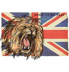 Lion - an hand drawn vector