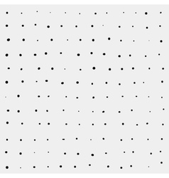Minimal monochrome handwritten pattern dots vector