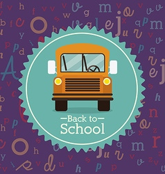 Back to school icons design vector