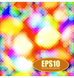 Abstract on a colorful background vector image vector image