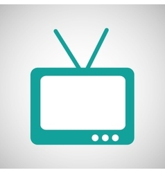 tv home vector image