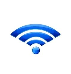 Web wifi icon vector image