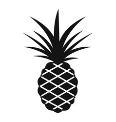 Pineapple icon simple style vector