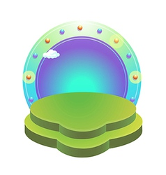 Icon stage vector