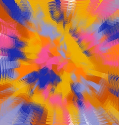 Abstract triangular color background vector image vector image