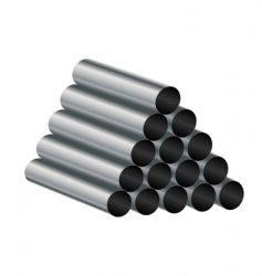 Metal tube vector
