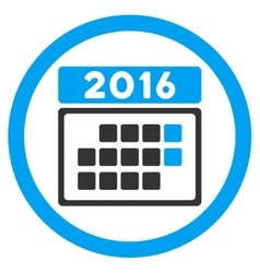 2016 month syllabus icon vector
