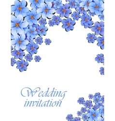 Greeting card watercolor can be used as vector