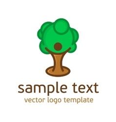 Logo nature pattern vector image