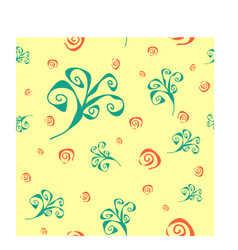 Spiral swirl abstract pattern vector