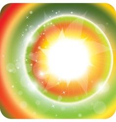 summer sunlight vector image vector image