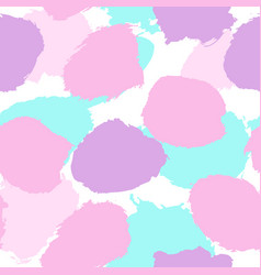 Paint drops seamless pattern vector
