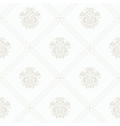 Silver vintage wallpaper vector