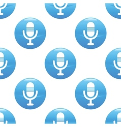 Microphone sign pattern vector