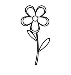 flower natural spring decoration image line vector image vector image