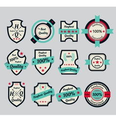 premium quality icons vector image vector image