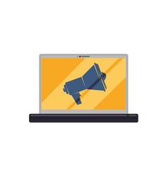 digital advertising business vector image