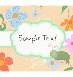 abstract label vector image