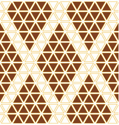 geometric pattern seamless vector image vector image
