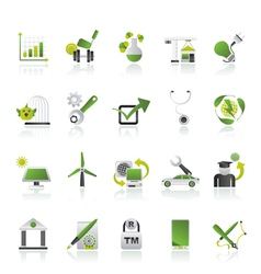 Internet and Website Portal icons vector image