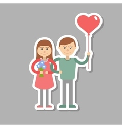 picture with congratulations for the vector image vector image