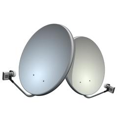 Satelite dish vector