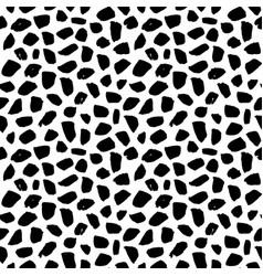 Seamless pattern grunge brush stroke vector