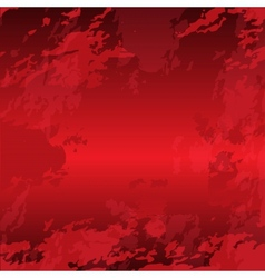 Grunge red bright background vector