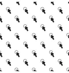 Cursor arrow waiting pattern simple style vector