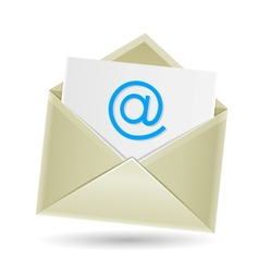 email envelope vector image vector image