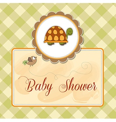 funny baby shower card vector image vector image