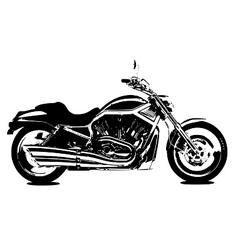 V rod bike vector image
